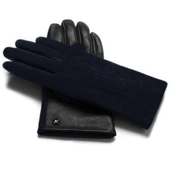 napoROSE (schwarz/dunkelblau) - Damen-Winterhandschuhe mit Fütterung und Touchscreen-Technologie #3