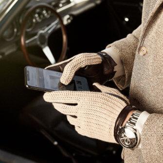 Retro Autofahrerhandschuhe