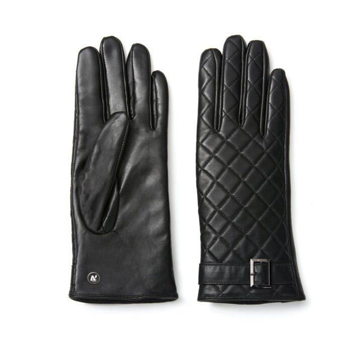 napoELEGANT (schwarz) - Damen-Winterhandschuhe mit Fütterung und Touchscreen-Technologie #2