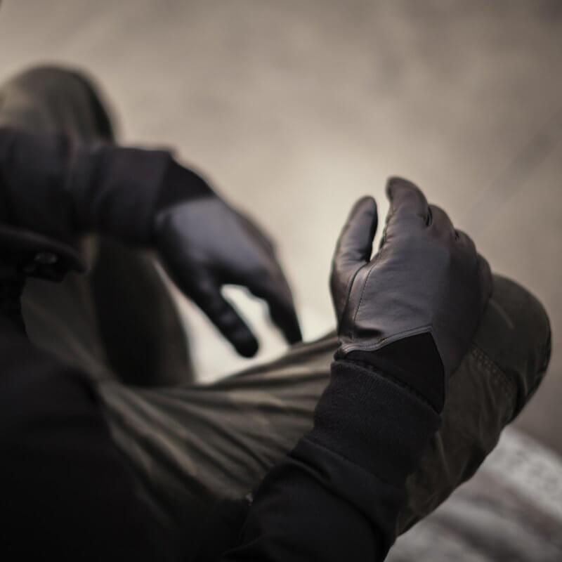 Herrenhandschuhe schwarz