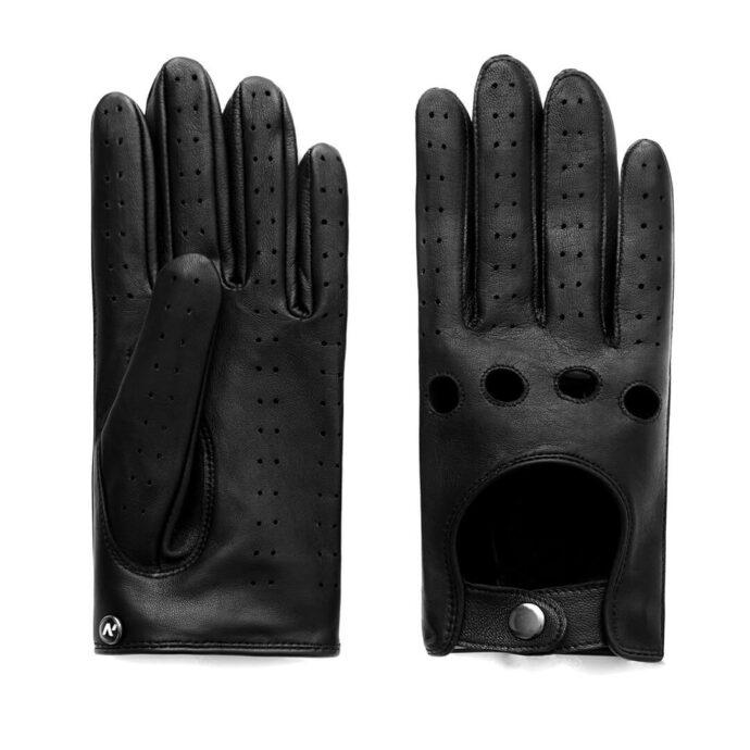 napoDRIVE (schwarz) - Herren-Autohandschuhe ohne Fütterung mit Touchscreen-Technologie #3