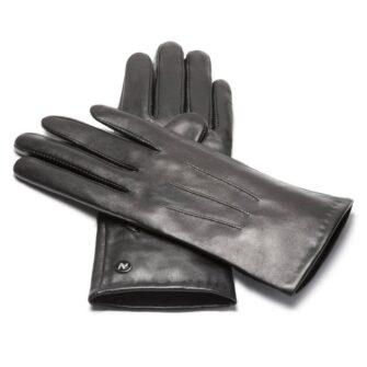 napoCLASSIC (schwarz) - Damen-Winterhandschuhe mit Fütterung und Touchscreen-Technologie