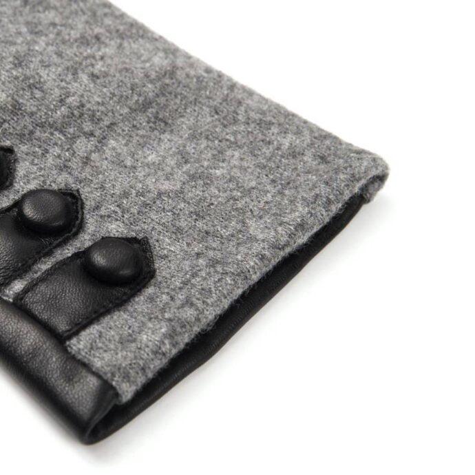 napoFELT (schwarz/grau) - Damen-Winterhandschuhe mit Fütterung und Touchscreen-Technologie #2