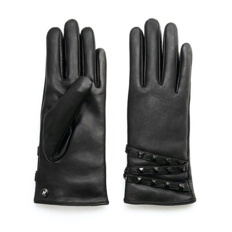 napoSTUD (schwarz) - Damen-Winterhandschuhe mit Fütterung und Touchscreen-Technologie #3
