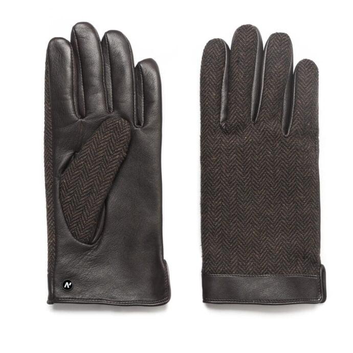 napoGENT (braun) - Herren-Winterhandschuhe mit Fütterung und Touchscreen-Technologie #3
