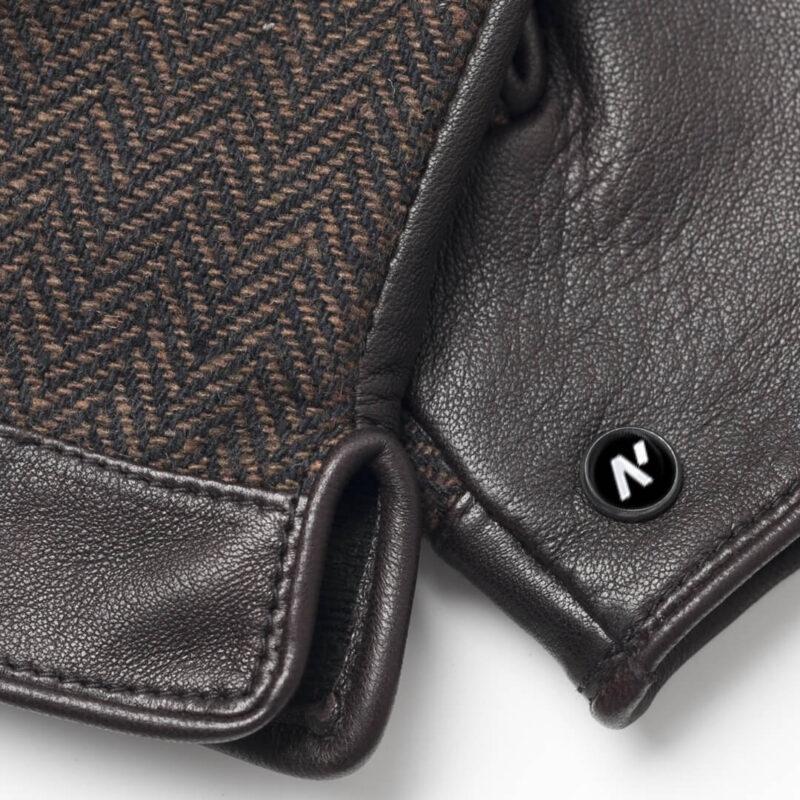 napoGENT (braun) - Herren-Winterhandschuhe mit Fütterung und Touchscreen-Technologie #2
