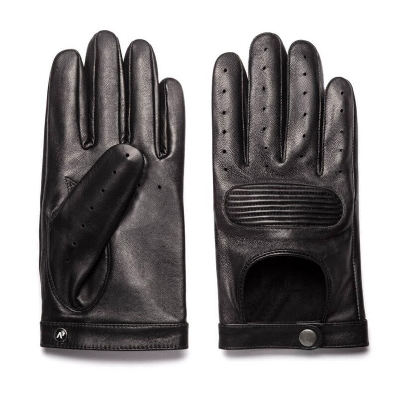 napoSPEED (schwarz) - Herren-Autohandschuhe ohne Fütterung mit Touchscreen-Technologie #3