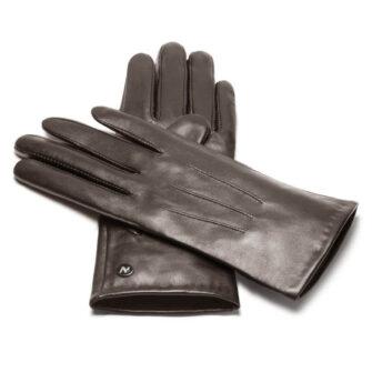 napoCLASSIC (braun) - Damen-Winterhandschuhe mit Fütterung und Touchscreen-Technologie
