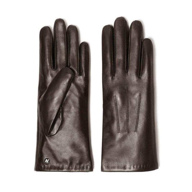 napoCLASSIC (braun) - Damen-Winterhandschuhe mit Fütterung und Touchscreen-Technologie #3