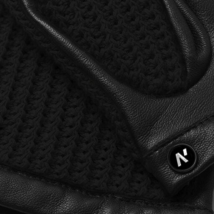 napoCROCHET (schwarz) - Herren-Autohandschuhe ohne Fütterung mit Touchscreen-Technologie #4