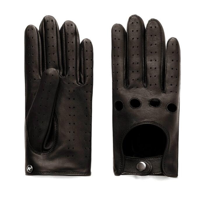 napoDRIVE (braun) - Herren-Autohandschuhe ohne Fütterung mit Touchscreen-Technologie #3
