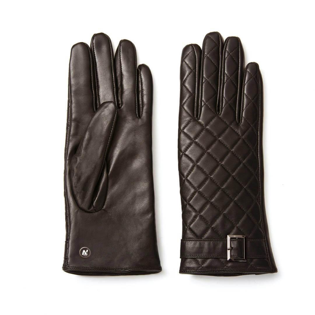 napoELEGANT (braun) - Damen-Winterhandschuhe mit Fütterung und Touchscreen-Technologie #3