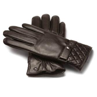 napoMODERN (braun) - Damen-Autohandschuhe ohne Fütterung mit Touchscreen-Technologie