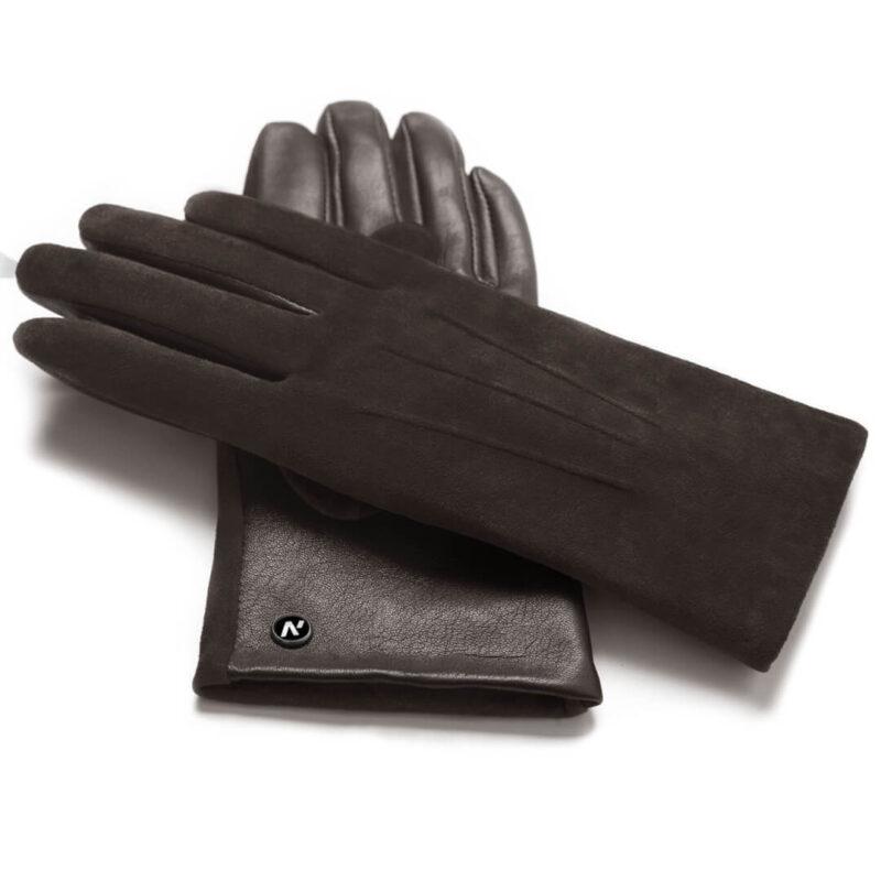 napoROSE (braun) - Damen-Winterhandschuhe mit Fütterung und Touchscreen-Technologie #3
