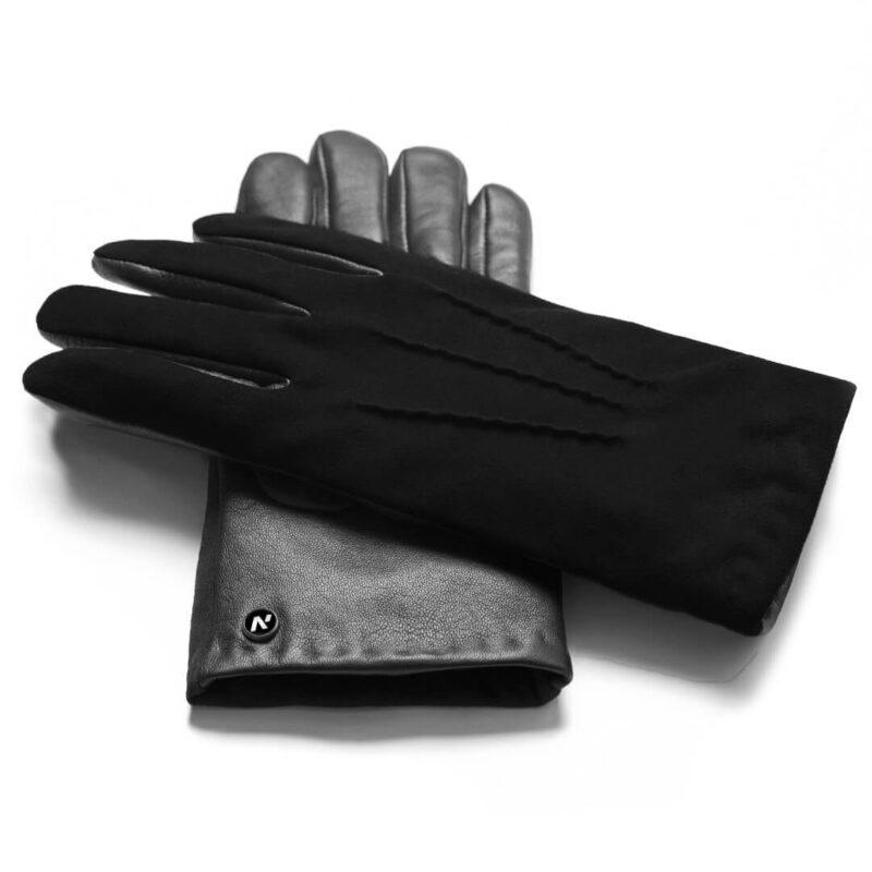 napoSUEDE (schwarz) - Herren-Winterhandschuhe mit Kaschmir-Fütterung und Touchscreen-Technologie #3