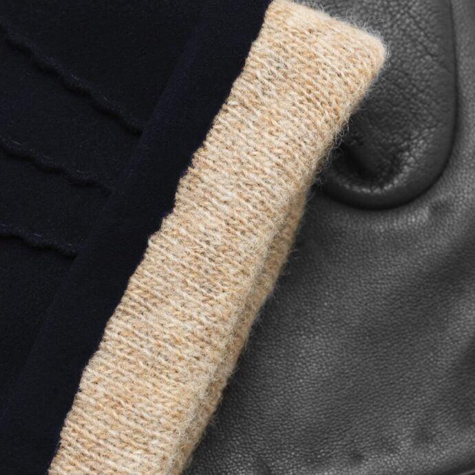 napoSUEDE (schwarz/dunkelblau) - Herren-Winterhandschuhe mit Kaschmir-Fütterung und Touchscreen-Technologie #2