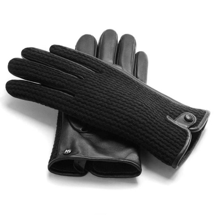 napoWOOL (schwarz) - Herren-Winterhandschuhe mit Fütterung und Touchscreen-Technologie #3