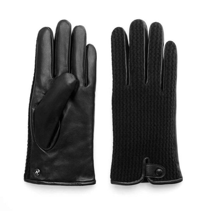 napoWOOL (schwarz) - Herren-Winterhandschuhe mit Fütterung und Touchscreen-Technologie #2