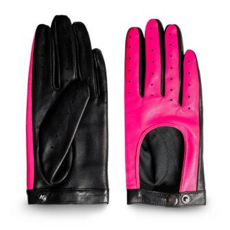 Neon Pink Handschuhe