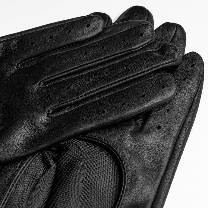 Autohandschuhe für Damen schwarz