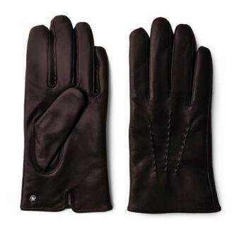 Braune Handschuhe Touchscreen