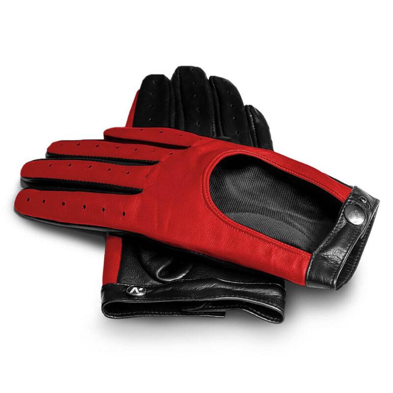 Rote Handschuhe für Frauen