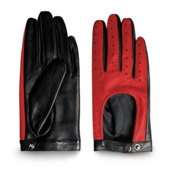 Rote Handschuhe für Damen